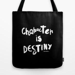 character-is-destiny-heraclitus-bags