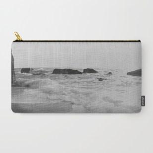 greek-seascape-black-and-grey-sea-rocks-ionia-island-lefkada-carry-all-pouches