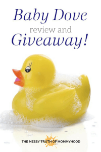 Baby Dove Product Line Review and Giveaway