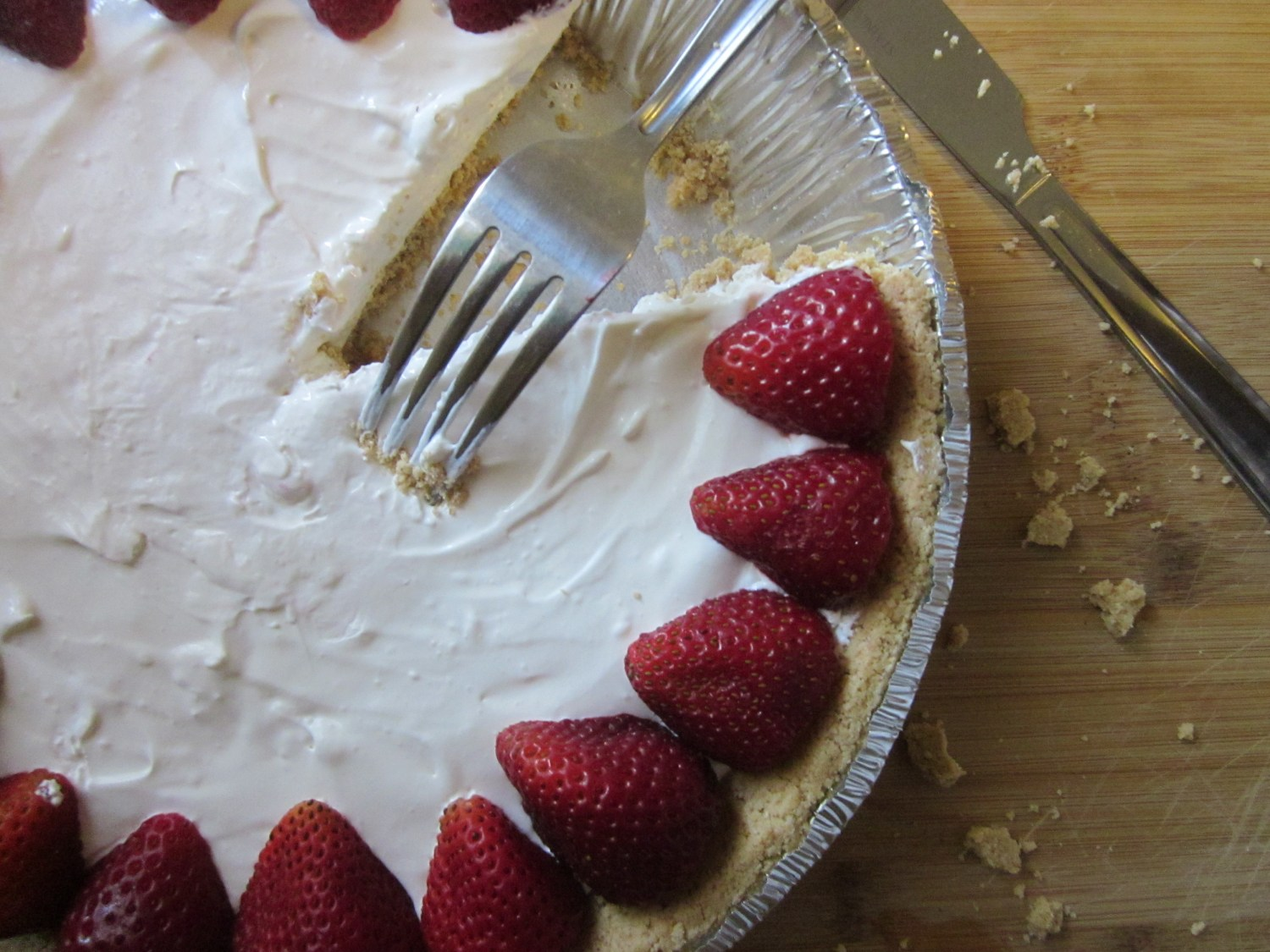 "No-bake Skinny ""Cheesecake"""