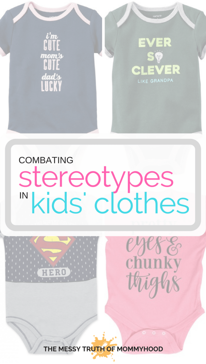 Combating Gender Stereotypes in Kids' Clothes