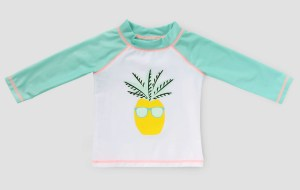 Baby Boys' Pineapple Rash Guard