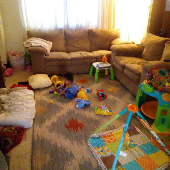 Messy Living Room: The Messy Truth Of Mommyhood