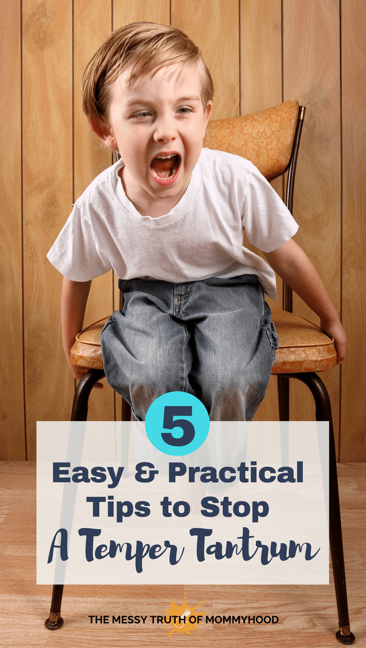5 Easy and Practical Tips to Stop Your Toddler's Public Temper Tantrum