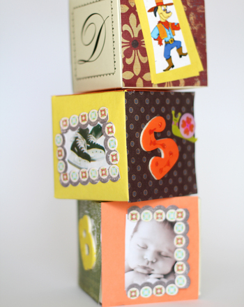 Alphabet blocks from Education.com