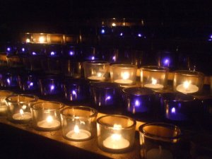 """vigil lights"" by Julia Walsh FSPA"