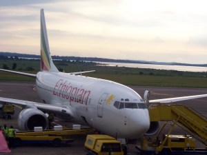Ethiopian airline, courtesy of Nicole Steele Wooldridge