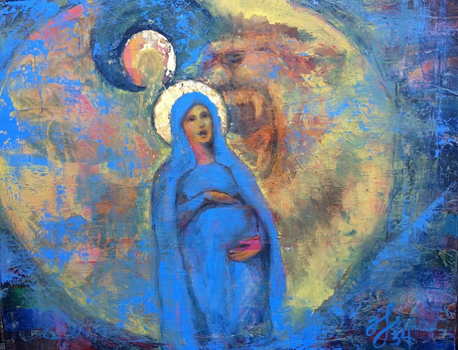 painting-Mary