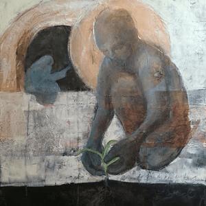 illustration-person-bending-plant