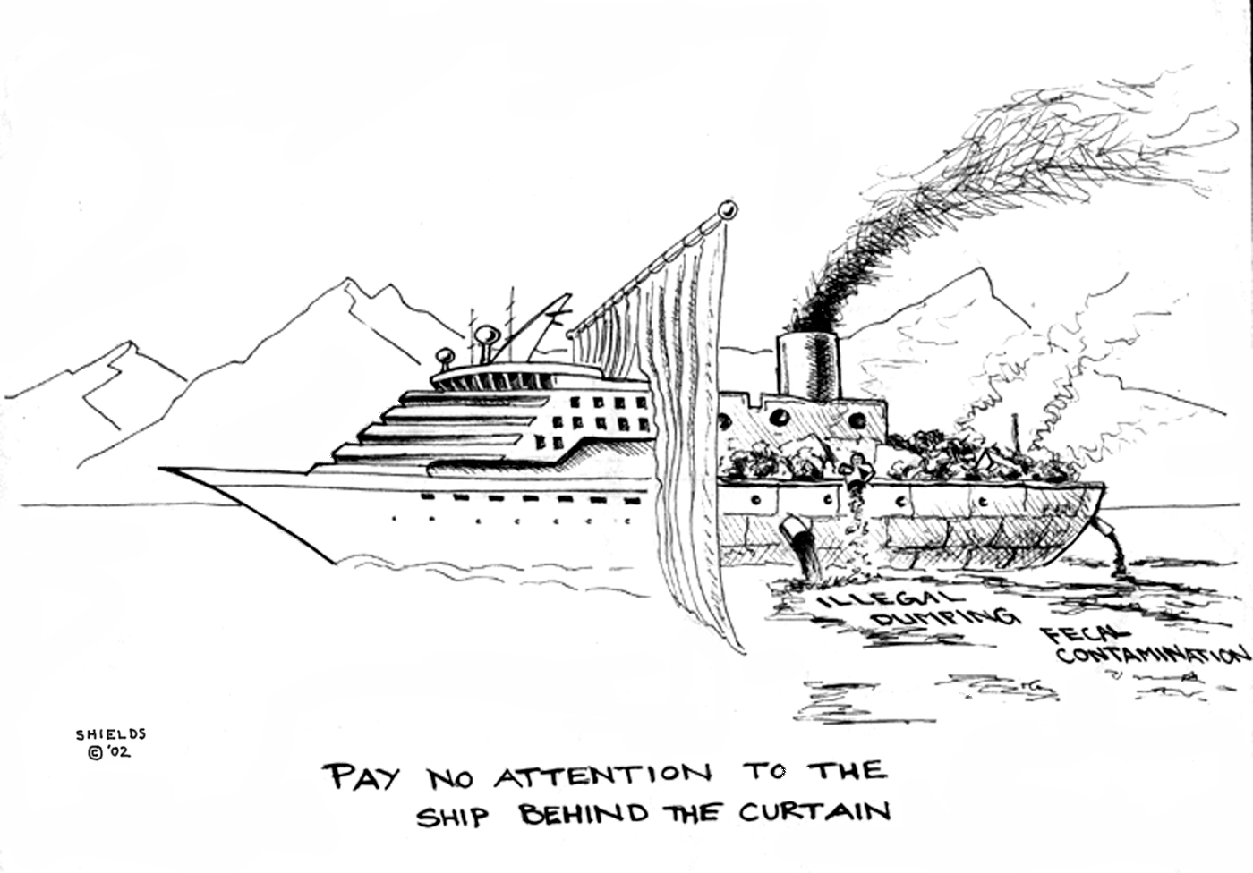 Cruise Ship Pollution Maritime Pollution