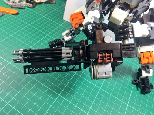 Another view of the Predator Cannon.