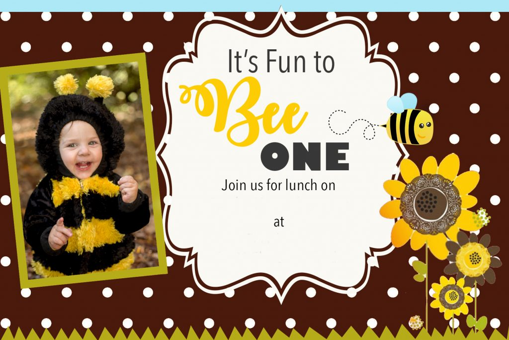 bumble bee birthday party messymom