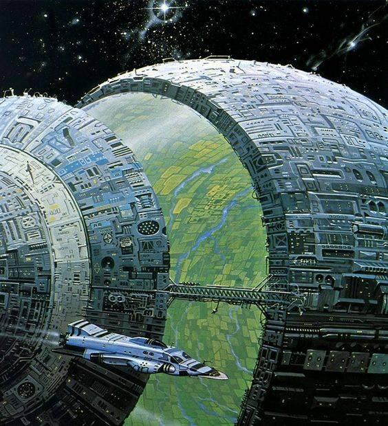 Dyson Spheres - Autor: Angus McKie