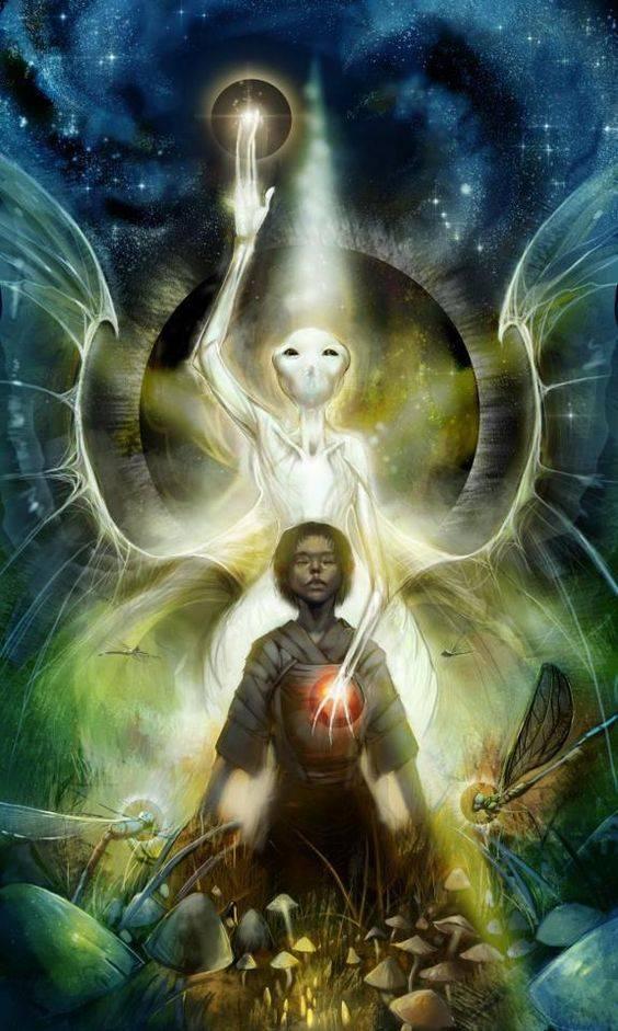 Extraterrestre plano astral - Elemental - Terra - Gaia