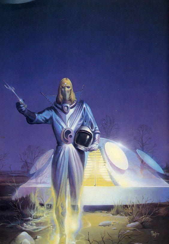Extraterrestre - Autor: Peter Andrew Jones