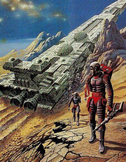 Nave Alienígena - Arte: Alfred Kelsner