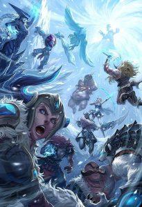 League of Legends Fan Arts Freljord Arte de Quirkilicious