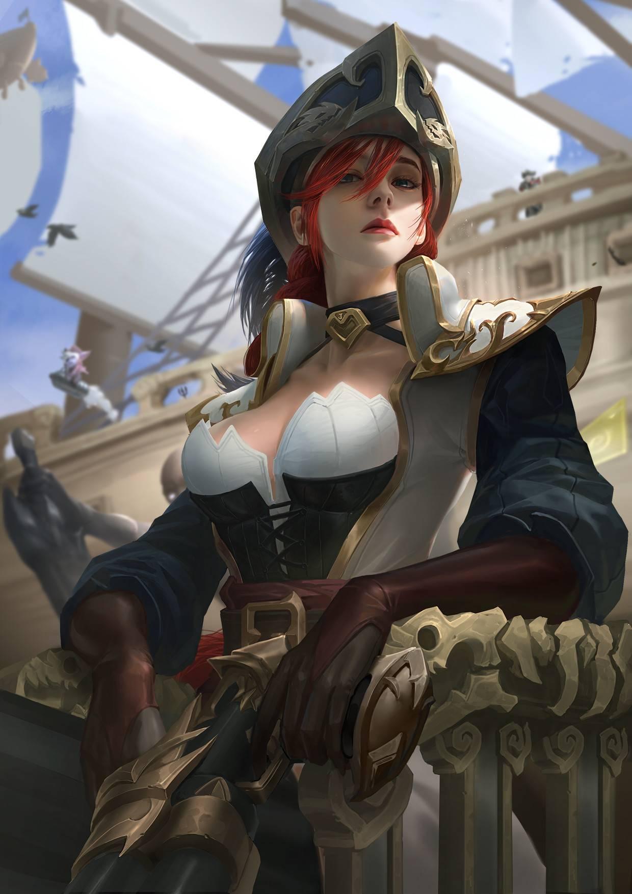lejia-chan-miss-fortune-lol-league-of-legends
