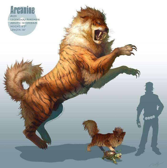 Arcanine - Version - RJ Palmer
