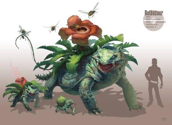 Bulbasaur Version - RJ Palmer