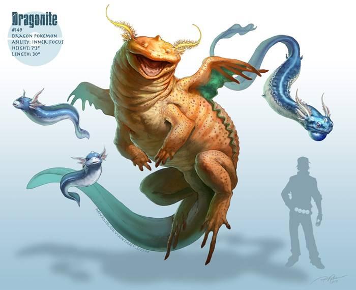 Dragonite - Version RJ Palmer