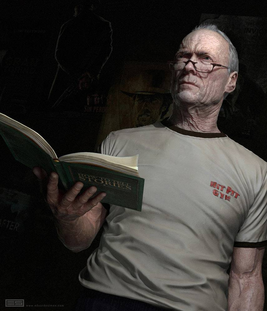 Clint westwood - Autor: Eduardo Simon