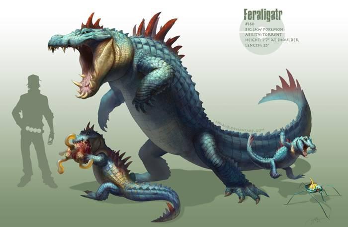Feraligatr - Version Rj Palmer