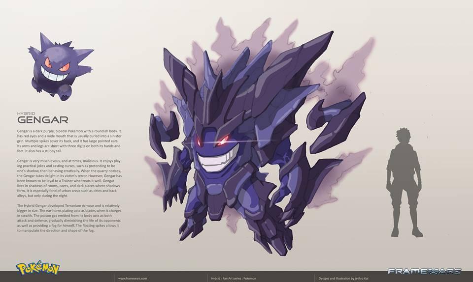 Gengar - Version Frame Wars