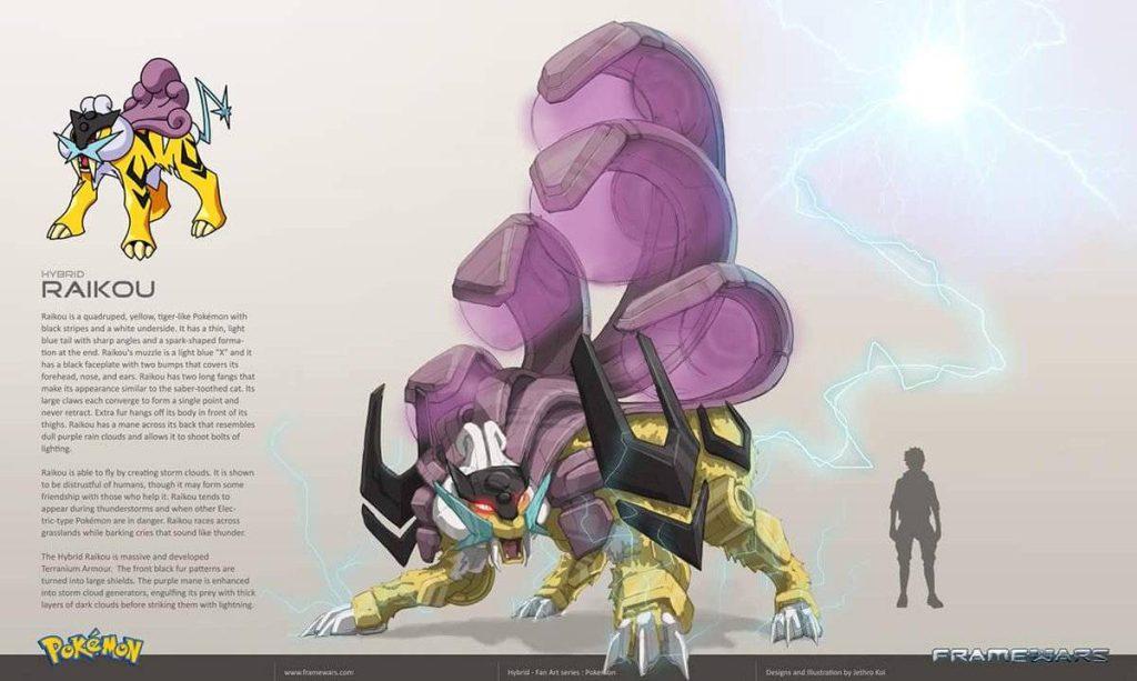 Raikou - Version Frame Wars