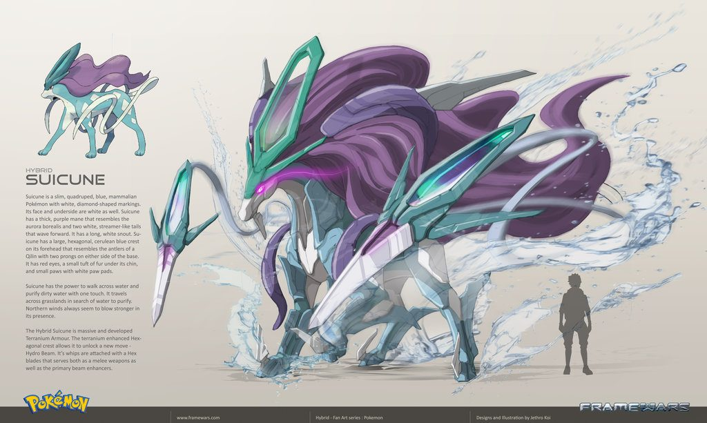 Suicune - Version Frame Wars