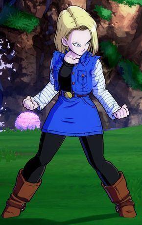 Androide 18 - numero 18 - Dragon Ball