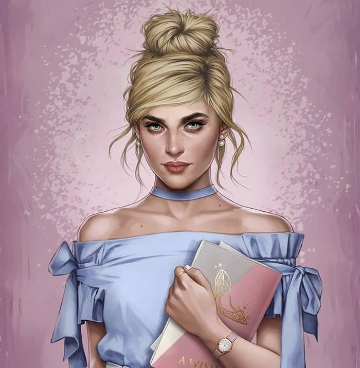 Disney princesa Cinderela