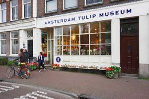 Le musée de la tulipe à Amsterdam dans le Jordaan