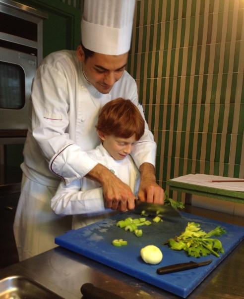 Albert Cooking