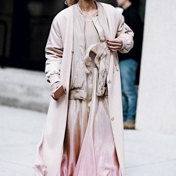 pink trend street style looks