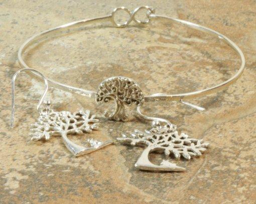 arbre de vie et bijoux