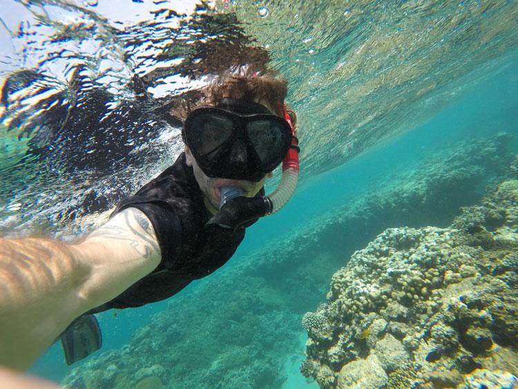 selfi-sous-marin
