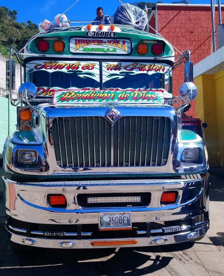 passer la frontière Mexique Guatemala
