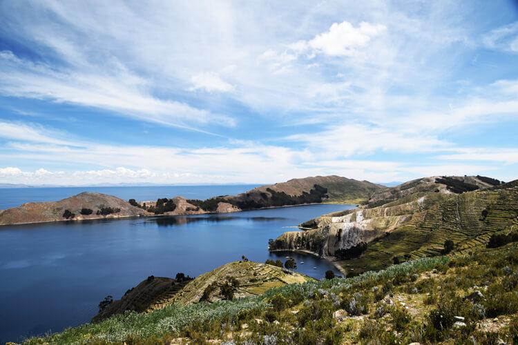 Isla del sol paysage