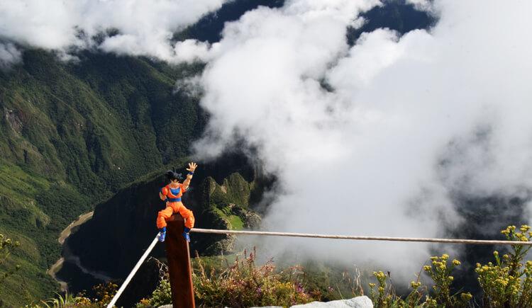 Son Goku Machu Picchu