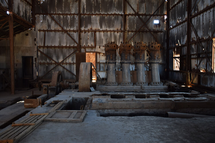Humberstone usine