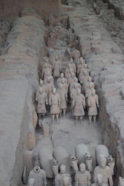 armée de terre cuite xi-an-soldats-chevaux