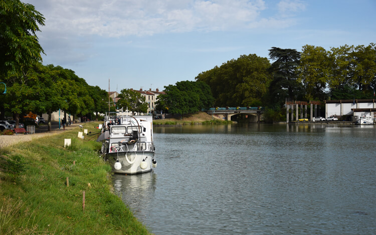 canal des deux mers à vélo Agen