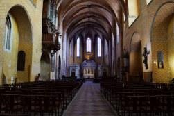 Abbaye Moissac intérieur