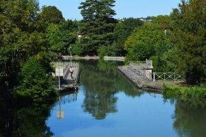 canal des deux mers à vélo Pont-canal de l'Hers
