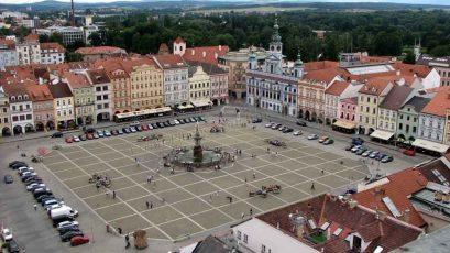 Ceské Budejovice - Tour noir, vue