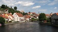 Cesky Krumlov - Rivière Vltava