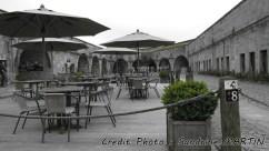 Dinant - L'intérieur de la citadelle