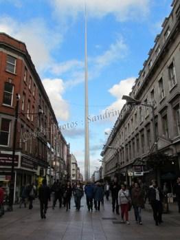 Dublin - Monument, The spire 'la flèche'