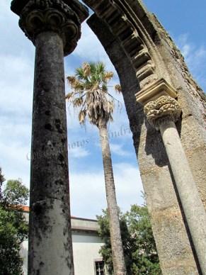 Evora - Jardin <publique, ruines déplacées
